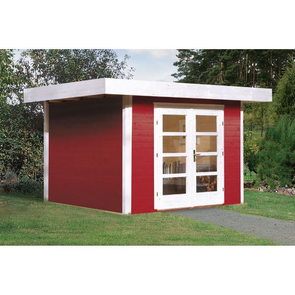 Abri de jardin en bois abri de jardin en bois chill out 1 for Porte bois exterieur jardin