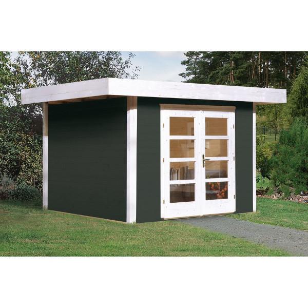 Abri de jardin en bois abri de jardin en bois chill out 1 for Porte abri exterieur