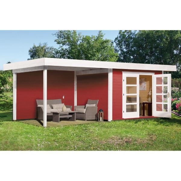 Abri de jardin en bois abri de jardin en bois chill out 3 for Porte bois exterieur jardin