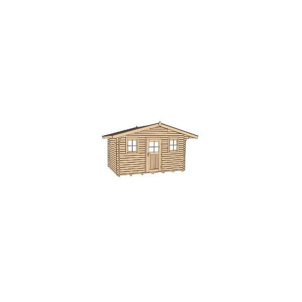 abri jardin bois konstanz 1 28 mm avanc e de toit 60 ou 200cm abri de jardin en bois achatmat. Black Bedroom Furniture Sets. Home Design Ideas