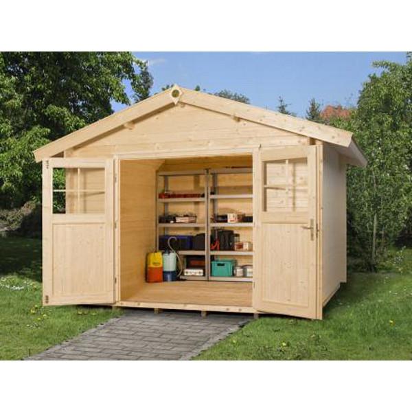abri jardin bois neustadt 1 28 mm avanc e de toit 20 cm abri de jardin en bois achatmat. Black Bedroom Furniture Sets. Home Design Ideas