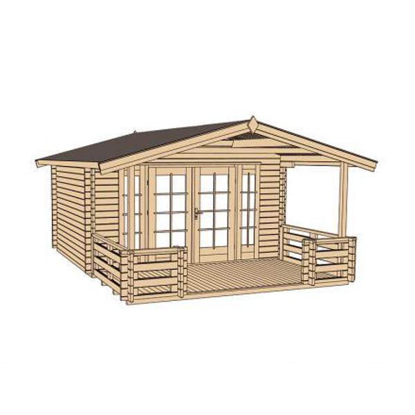 abri jardin bois tegernsee 2 et 3 45 mm avanc e de toit 200 cm abri de jardin en bois achatmat. Black Bedroom Furniture Sets. Home Design Ideas