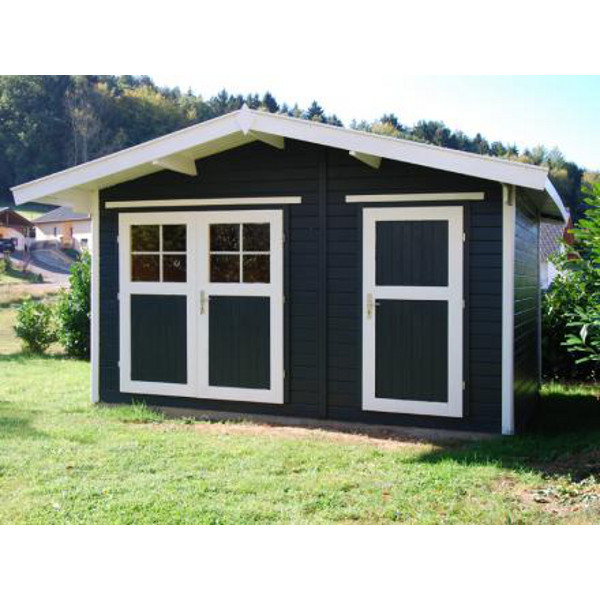 Abri jardin hinterzarten 28 mm abri de jardin en bois for Porte exterieur abris de jardin