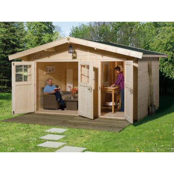 Abri jardin hinterzarten 28 mm abri de jardin en bois for Paroi bois jardin