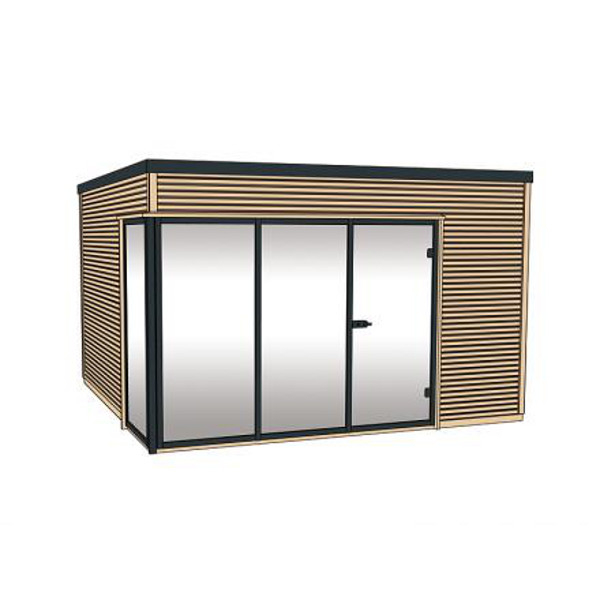 Bungalow design haut de gamme en bois cubilis en - Abris de jardin haut de gamme ...