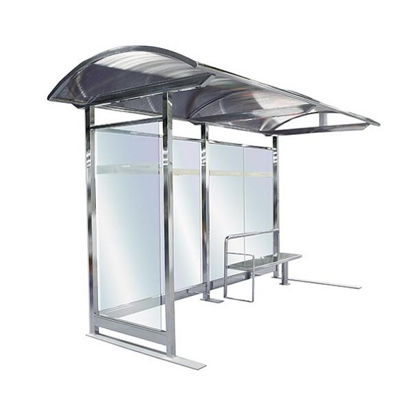 abribus avec 1 banc et 1 paroi lat rale abris bus. Black Bedroom Furniture Sets. Home Design Ideas