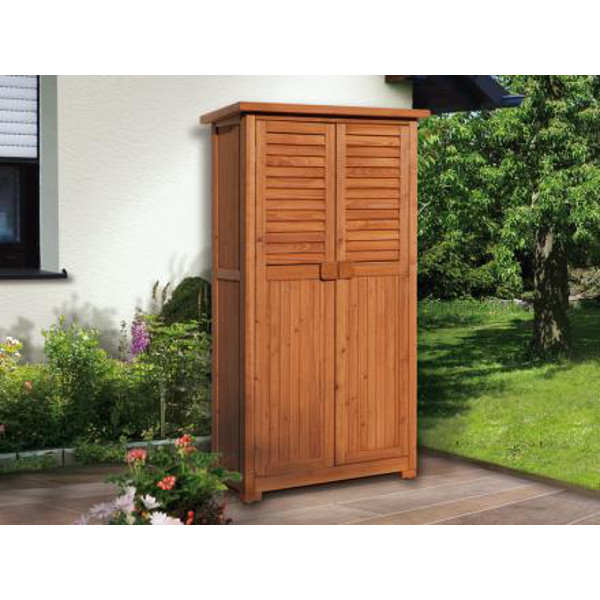 armoire de jardin et terrasse pd porte double abris de stockage et pergolas achatmat. Black Bedroom Furniture Sets. Home Design Ideas