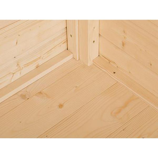 plancher en bois massif pour gardenbox abris de stockage et pergolas achatmat. Black Bedroom Furniture Sets. Home Design Ideas