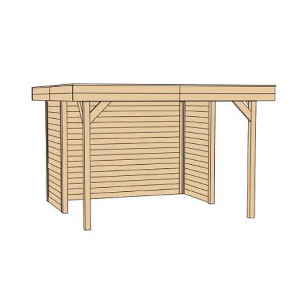 tonnelle toit plat eden abris de stockage et pergolas achatmat. Black Bedroom Furniture Sets. Home Design Ideas