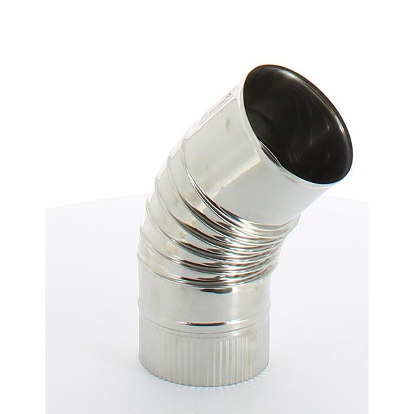 coude 22 5 pour tuyau double paroi inox inox pour fuel ou gaz int rieur ou ext rieur. Black Bedroom Furniture Sets. Home Design Ideas