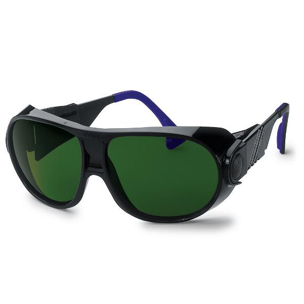 lunette de protection avec large champ de vision uvex futura 9180 accessoires de soudure. Black Bedroom Furniture Sets. Home Design Ideas