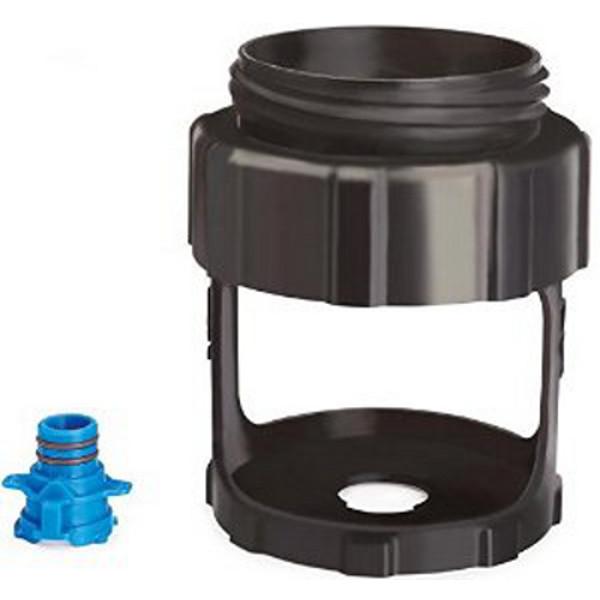adaptateur de pot de peinture d 39 un litre canconnect pour easymax accessoires pistolets achatmat. Black Bedroom Furniture Sets. Home Design Ideas