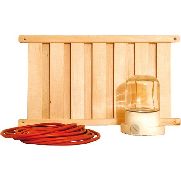 Kit de lumi res pour sauna accessoires saunas achatmat - Accessoire pour sauna ...