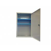 armoire pharmacie m tallique vide 1 porte avec serrure armoires de secours achatmat. Black Bedroom Furniture Sets. Home Design Ideas