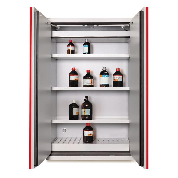 armoire de stockage anti feu 90 min grise armoires. Black Bedroom Furniture Sets. Home Design Ideas