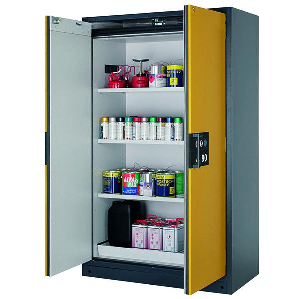 armoires de s curit asecos q pegasus 90 anti feu 90 mn armoires pour produits inflammables. Black Bedroom Furniture Sets. Home Design Ideas