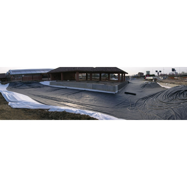 Membrane epdm bassin larg 15 24 m long coupe de 1 30 for Bache epdm bassin pour toiture