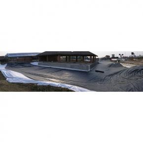 Membrane epdm bassin larg 6 1 m long coupe de 1 30 m for Membrane bassin