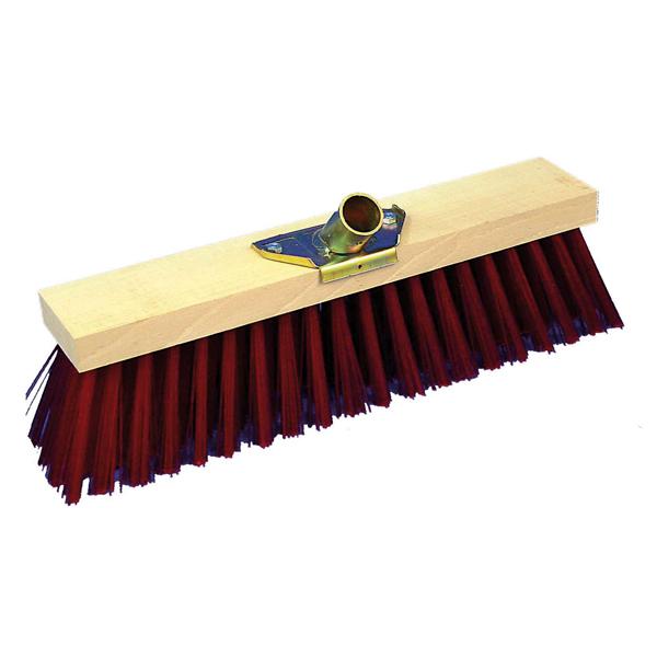 balai de cantonnier synth tique rouge douille 28 mm. Black Bedroom Furniture Sets. Home Design Ideas