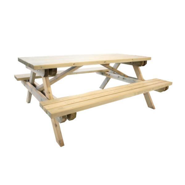 table pique nique bois bancs chaises et tables publics. Black Bedroom Furniture Sets. Home Design Ideas