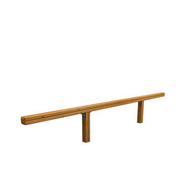 Circuit sportif poutre d 39 quilibre bois achatmat - Poutre bois pour exterieur ...