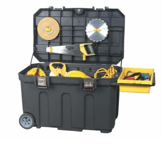 Coffre de chantier Pro 190 L - STANLEY   Boites à outils   Achatmat 8fc0afc18e44