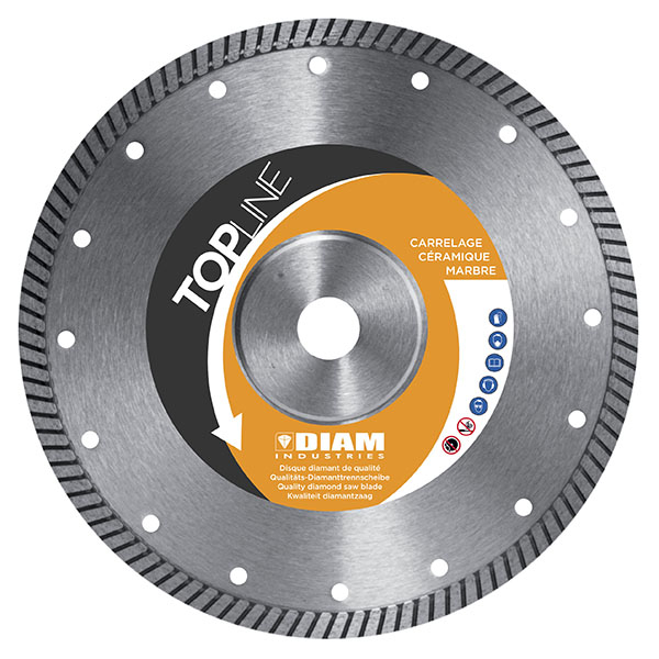 Disque diamant fc80 sp cial gr s c rame carrelage for Couper carrelage gres cerame