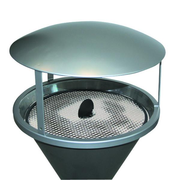 protection contre la pluie pour cendrier sur pied diabolo cendriers urbains achatmat. Black Bedroom Furniture Sets. Home Design Ideas