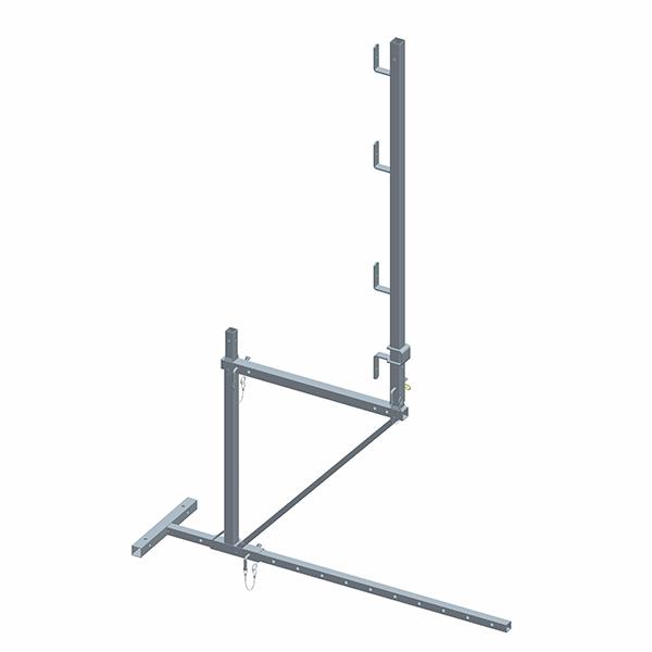 echafaudage de toit acier de base 1 niveau d bord 45cm et garde corps chafaudage suspendu. Black Bedroom Furniture Sets. Home Design Ideas