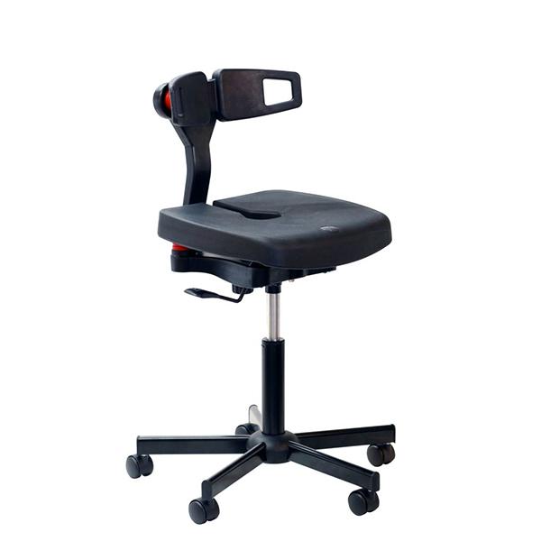 chaise ergonomique polyur 233 thane 224 roulettes chaise assis debout tabouret achatmat