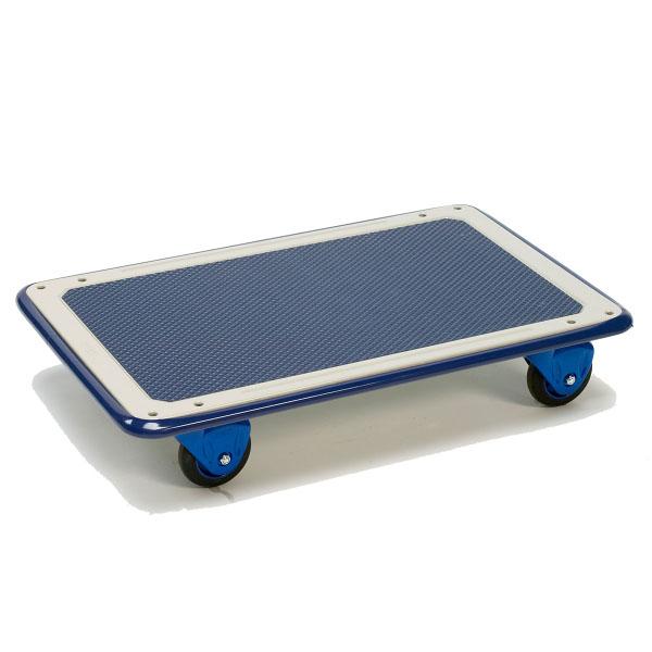 plateau roulant en m tal charge 150 kg chariots de manutention plateaux achatmat. Black Bedroom Furniture Sets. Home Design Ideas