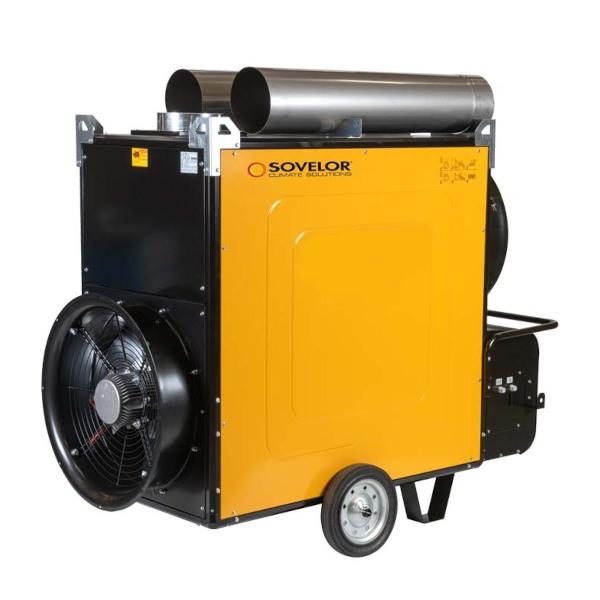 chauffage au fuel air puls avec ventilateur h lico de achatmat. Black Bedroom Furniture Sets. Home Design Ideas