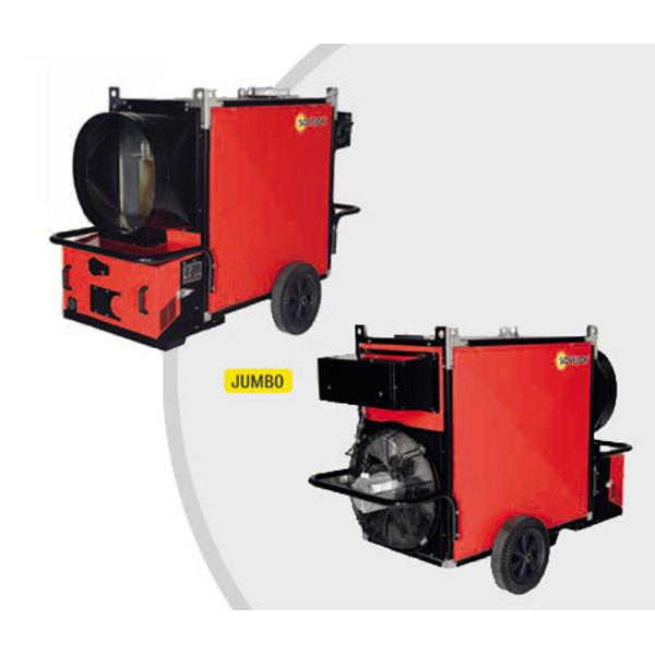 Chauffage mobile air puls jumbo h lico de avec br leur for Chauffage exterieur propane