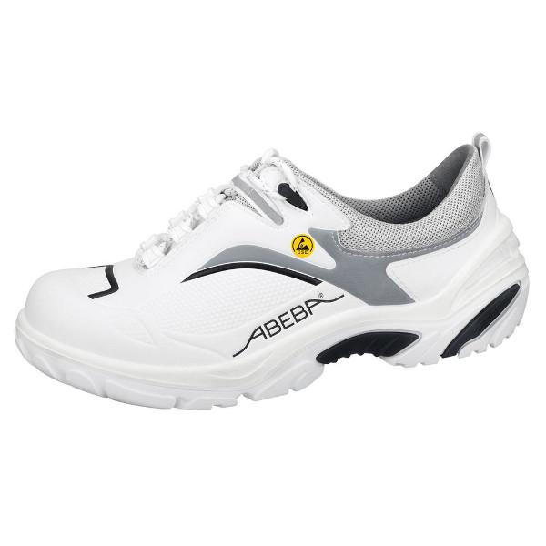 revendeur a4223 7c94d Chaussures de sécurité basse blanc/ noir Crawler Alu ESD S1