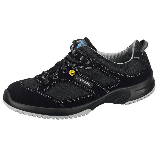 chaussures de s curit basse noir uni6 acier esd s1 chaussures de s curit esd achatmat. Black Bedroom Furniture Sets. Home Design Ideas