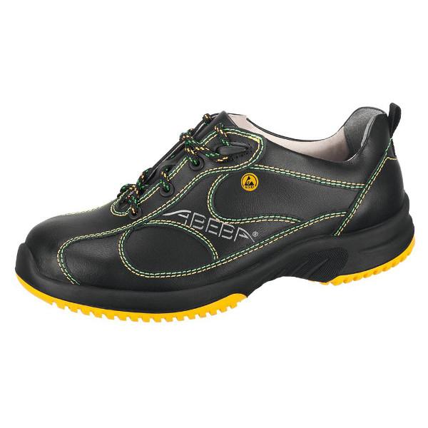 chaussures de s curit basse noir uni6 acier esd s3 chaussures de s curit esd achatmat. Black Bedroom Furniture Sets. Home Design Ideas