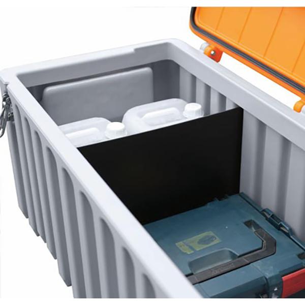 cloison de s paration cembox 250 coffre et malle achatmat. Black Bedroom Furniture Sets. Home Design Ideas