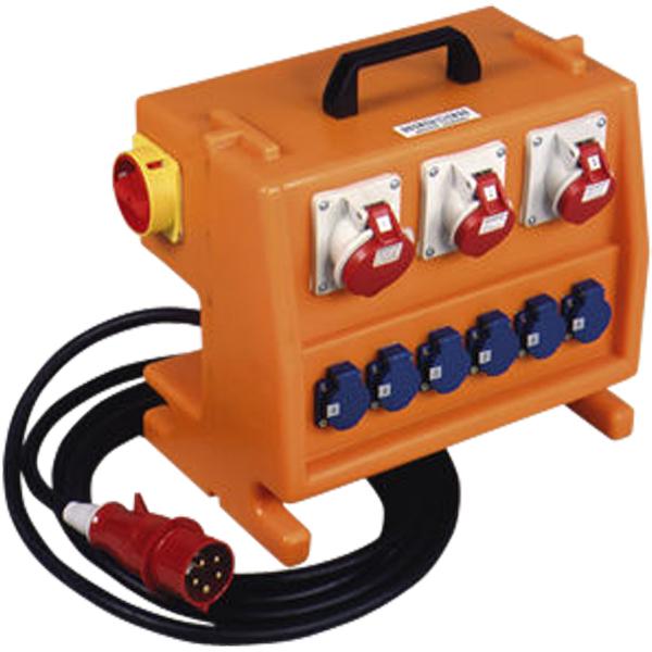 Coffret De Chantier Exterieur 22 Kva 230 V 415 V Protection Par Disjoncteurs Coffrets De Chantier Achatmat