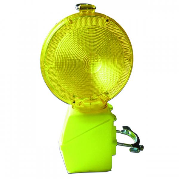 lampe chantier diffuseur acrylique jaune avec support en. Black Bedroom Furniture Sets. Home Design Ideas