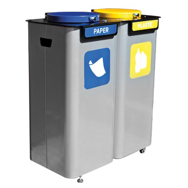 Couvercle pour poubelle menden corbeilles de villes - Couvercle pour poubelle automatique ...