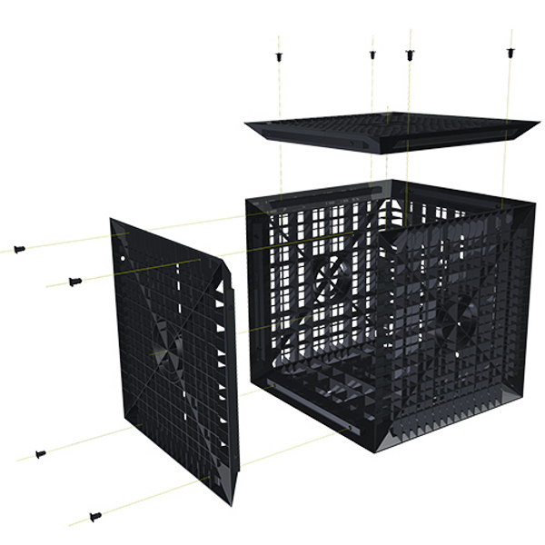 cagette de r tention d 39 eaux de pluies et pour l 39 infiltration achatmat. Black Bedroom Furniture Sets. Home Design Ideas