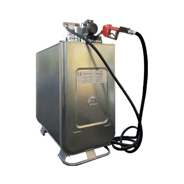 Cuve distribution gnr en acier duraplas achatmat for Cuve a fioul exterieur