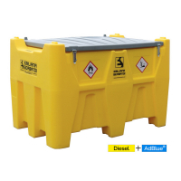 Station mobile, transport de carburant mixte 400 L GNR - 50 L ADBLUE®