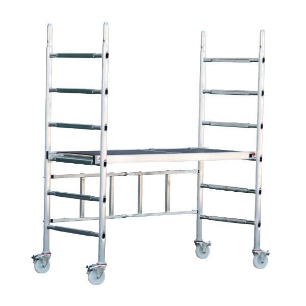 echafaudage alu pliant roulant alupro echafaudage aluminium achatmat. Black Bedroom Furniture Sets. Home Design Ideas