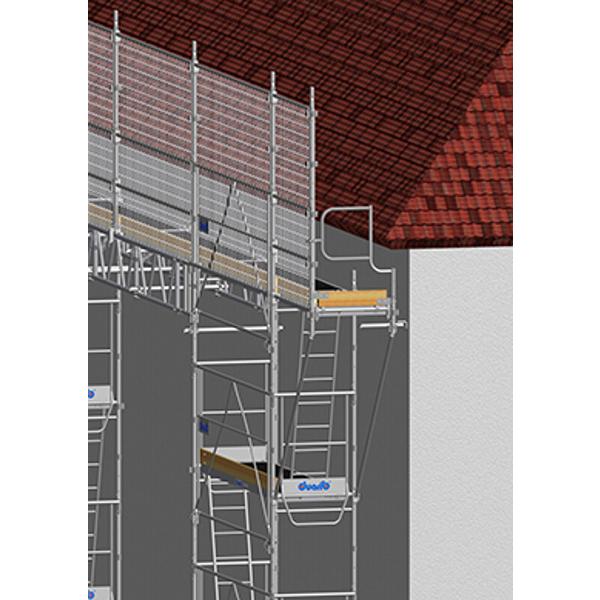 echafaudage de couvreur 18 m hauteur 4 m echafaudage. Black Bedroom Furniture Sets. Home Design Ideas