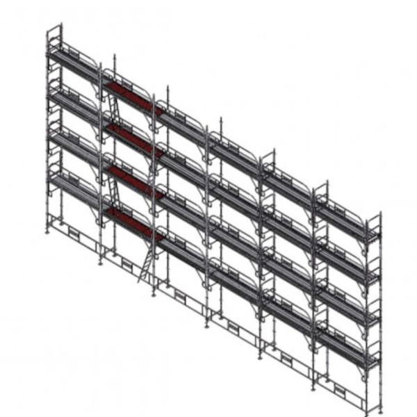 echafaudage platinum pro 45 190m2 echafaudage fa adier. Black Bedroom Furniture Sets. Home Design Ideas
