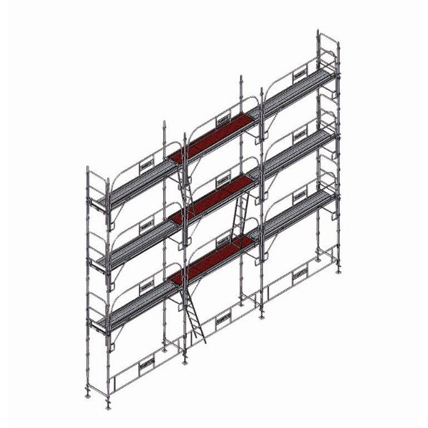 echafaudage platinum pro 45 80m2 echafaudage fa adier. Black Bedroom Furniture Sets. Home Design Ideas