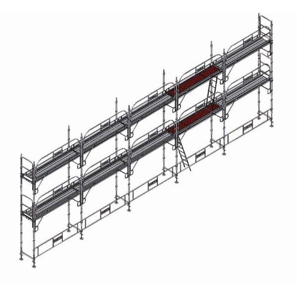 echafaudage platinum pro 45 96m2 echafaudage fa adier. Black Bedroom Furniture Sets. Home Design Ideas