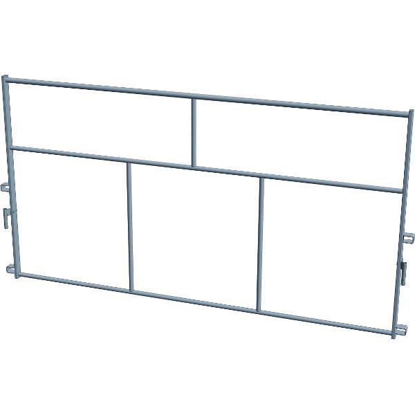 garde corps de montage en s curit aluminium echafaudage fixe duarib achatmat. Black Bedroom Furniture Sets. Home Design Ideas