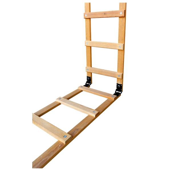 echelle de toit pliante en bois echelles pliables achatmat. Black Bedroom Furniture Sets. Home Design Ideas